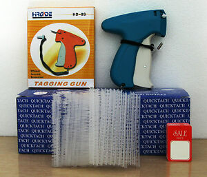 Tagging Gun 5000 2 Clear Barbs 100 Sale Price Tag