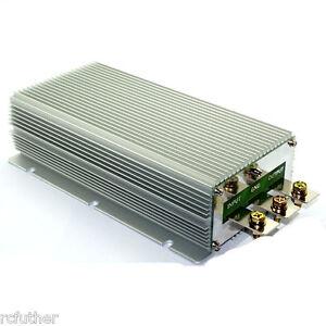 New Step up Dc Converter 24v To 48v 30a 1440w Boost Power Supply Module Car