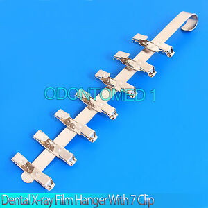 12 Dental X ray Film Hanger With 7 Clip dental Supply