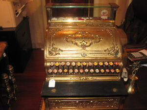 1912 Brass National Cash Register