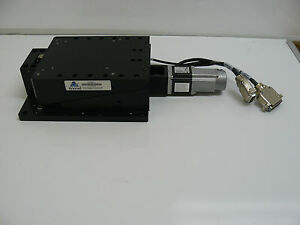 Anorad C620064 4 Positioning Stage With Allen Bradley Tly a130t hj64aa Servo