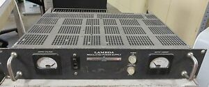 Lambda La 50 03bm Dc Power Supply Bench Checked Good