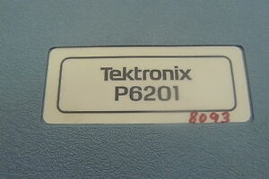 Tektronix P6201 Active Fet Probe Attenuator Heads Case