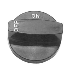 Knob 2 1 2 Dia Off on Black For Southbend Broiler 32 40c 32 bc Blodgett 221053