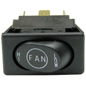Rocker Fan Switch Spdt On on 15a 125 277v For Duke Oven 6 13 E Series 421506