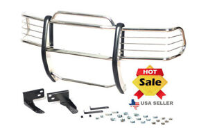 98 04 Chevy Chevrolet S 10 Blazer s Chrome Brush Stainless Steel Grill Guard