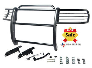 1996 2001 Ford Explorer Grill Guard Push Bumper In Black
