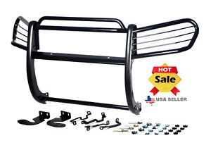 Fits 2003 2009 Toyota 4 runner 4runner Bumper Brush Grille Grill Guard In Black