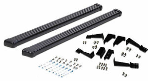 Running Boards Side Step Bar Black Aluminum Fit 1992 1999 Chevy Gmc Suburban