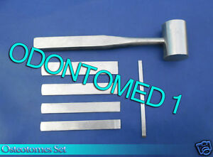 Osteotomes Set Of 6 Pieces Surgical Orthopedic Instruments