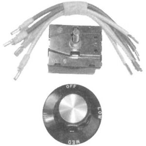 Rotary Switch Kit Fits 3 8 Hole 5 Terms For Southbend Broiler Oven Range 421295