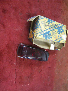 Nos Buick 1940 Roadmaster Super Tail Light Lamp Glass Lens 924809 W Box Nice