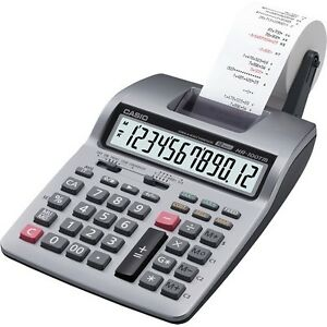 Printing Calculator Casio Hr100tm 12 digit 2 color Desktop U