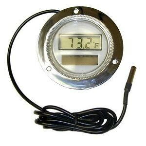 Thermometer Temp 58 302 F Solar Powered Digital Cap 108 3 Front Flange 621041