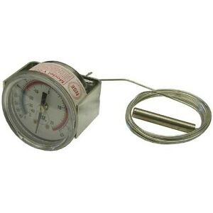 Thermometer W 2 Dial Temp 40 To 65 F Rear U clamp For Victory 50683201 621042