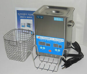 Dsa70se sk2 3l 3 17qt 270w Digital Heated Industrial Ultrasonic Parts Cleaner