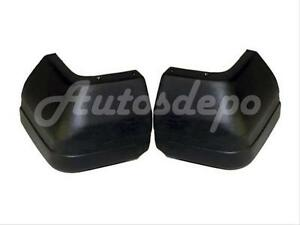 Bundle For 1984 1996 Jeep Cherokee Wagoneer Rear Bumper End Cap Textured Set