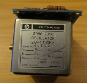 Hp Model 5086 7350 Oscillator 2 0 4 5 Ghz