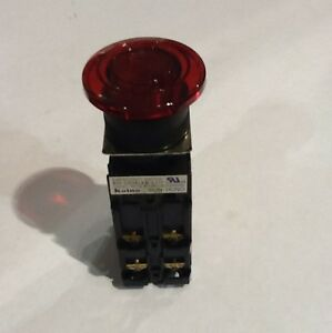 Koino Kh 2204led 2 Red Illuminated Push Button Switch
