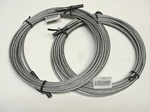 1 Set Of 2 Rotary Lift Spo9 Equalizer Cable fj7450 Brand New