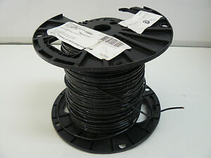 American Insulated Equip Wire 1475700500s 18 Stranded Black Tffn Or Mtw Ll 8825