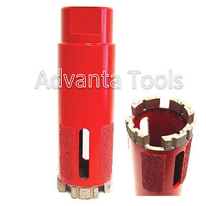 1 3 8 Supreme Turbo Segment Dry Diamond Core Drill Bit For Granite Marble Stone