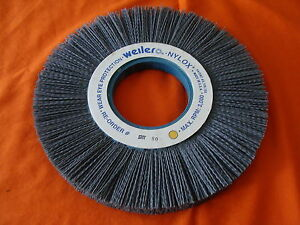 New Old Stock Weiler 10 Nylox Abrasive Nylon Wheel 80 Grit 83450 Made In Usa