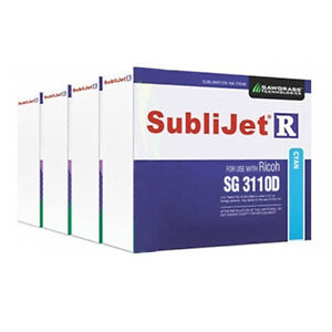 Sawgrass Sublijet r Sublimation Ink Set cmyk For Ricoh Sg 3110d Printer