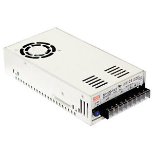 Mean Well Sp 320 5 Ac To Dc Power Supply Single Output 5 Volt 55 Amp 275 Watt