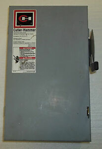 Cutler hammer General Duty Safety Switch Electrical Box