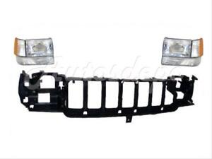 For 97 98 Jeep Grand Cherokee Header Panel Headlight Side Marker Signal Light 7