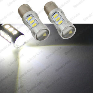 2 Pcs 7 5 Watt Luxeon Cree Xenon White 15 smd 1156 7506 Led Backup Reverse Light