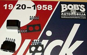 Buick Dovetail Bumper Springs 8 Pcs Set 1937 40 New Chevy Olds Pontiac