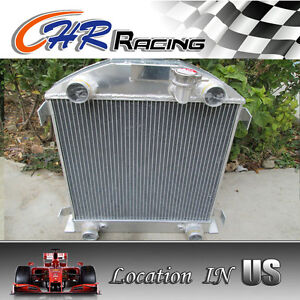 Aluminum Radiator For Ford Model A W Flathead Engine 1928 1929 28 29 1928 1929
