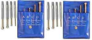 2 Sets Brand New 4 Pc Of Small Hole Full Ball Gage 1 8 To 1 2