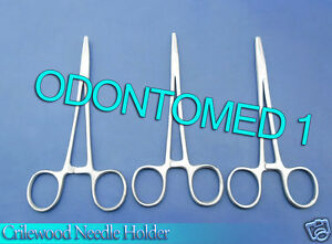 12 Crilewood Needle Holder 6 Surgical Dental Veterinary Instruments