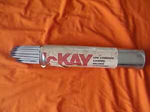 Nos Mckay 11018 m Xlm Welding Electrodes 10lb Box 1 8 304940 Full Box Of 126