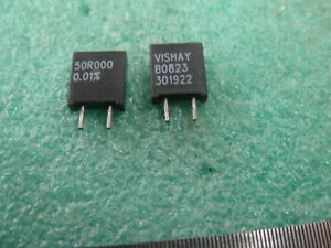 Lot Of 10 100k00 Vishay S102k Series Metal Foil Resistors 0 01 100k