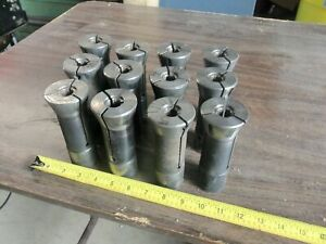 Lot Of 12pcs Balas Collets Serrated Turret Lathe Machine Shop Toolmaker Tools