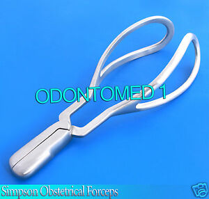 Simpson Obstetrical Forceps 9 5 Surgical Gynecology Instruments