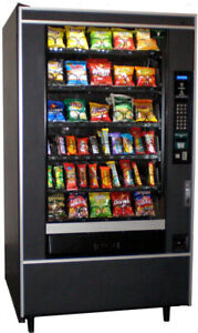 Crane National 147 Snack Vending Machine For Candy And Chips