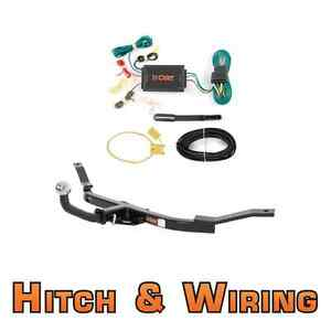 Curt Class 1 Trailer Hitch Wiring Euro Kit W 2 Ball For 05 06 Honda Element