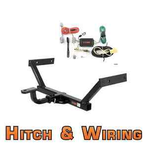 Curt Class 2 Trailer Hitch W mount Wiring For 2007 2011 Volvo S80