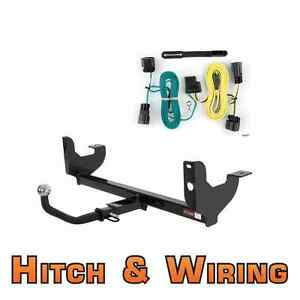 Curt Class 2 Trailer Hitch Wiring Euro Kit W 2 Ball For 08 12 Chevy Malibu
