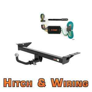 Curt Class 2 Trailer Hitch Wiring Euro Kit W 2 Ball For 2007 2011 Mazda Cx 7