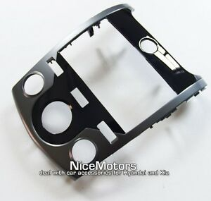 Glossy Center Fascia Panel For Manual A C Fit Kia Forte 2010 2013 Cerato