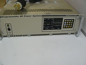 Elgar At8000b Programmable Dc Power Supply 5691286 13 Rev A