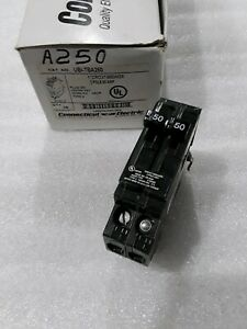 A250 Challenger Circuit Breaker 2 Pole 50 Amp new