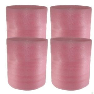 1 8 Pink Anti Static Foam Wrap 260 Ft Free Shipping Moving Packing Supplies