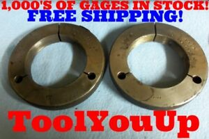 4 16 N 2 Thread Ring Gages 4 00 Go No Go P d s 3 9594 3 9522 Inspection